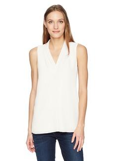 Calvin Klein Women's Sleeveless Crinkle Blouse  M