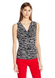 Calvin Klein Women's Sleeveless Drape Neck Cami