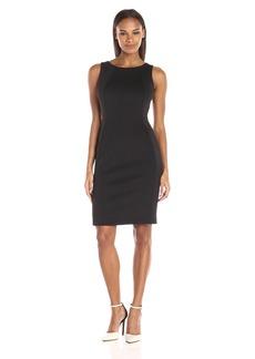 Calvin Klein Women's Sleeveless Dress with Back Cutout