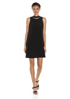 Calvin Klein Women's Sleeveless Dress With Choker