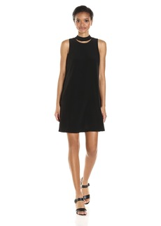 Calvin Klein Women's Sleeveless Dress With Choker