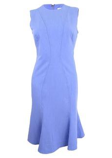 Calvin Klein Women's Sleeveless Dress with Flutter Hem