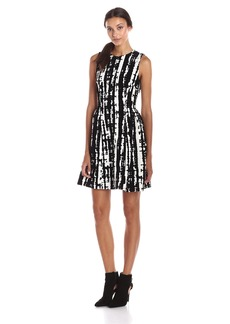 Calvin Klein Women's Sleeveless Fit & Flare Dress