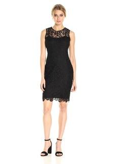 Calvin Klein Women's Sleeveless Lace Dress