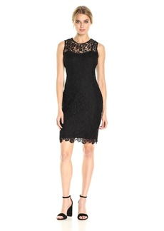 Calvin Klein Women's Sleeveless Lace Dress