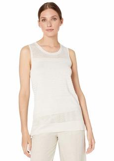 Calvin Klein Women's Sleeveless Multi Stich with Lurex
