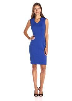 Calvin Klein Women's Sleeveless Sheath Dress