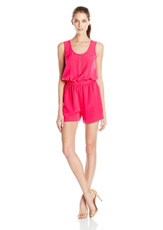 Calvin Klein Women's Sleeveless Solid Romper