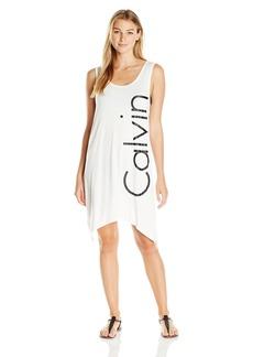 Calvin Klein Women's Sleeveless T-Shirt Dress Cover up