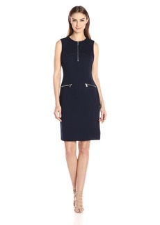 Calvin Klein Women's Sleeveless Textured Dress