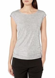 Calvin Klein Women's Sleeveless TOP with Buttons