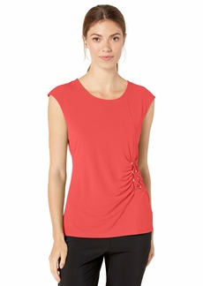 Calvin Klein Women's Sleeveless TOP with Lacing