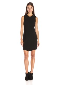 Calvin Klein Women's Sleevelss Overlay Sheath Dress