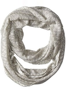 Calvin Klein Women's Slub Knit Two-Color Infinity Scarf