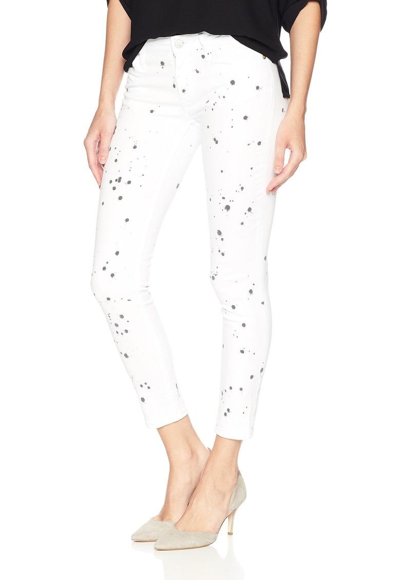 Calvin Klein Women's SLUB Twill Pant Ankle Skinny