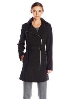 Calvin Klein Women's Soft Shell Trench Coat