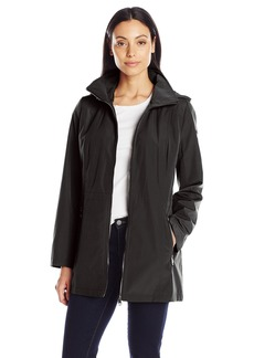 Calvin Klein Women's Softshell Anorak with Quilted Lining