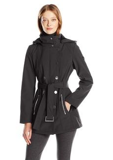 Calvin Klein Women's Softshell Trench Jacket  L