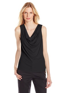 Calvin Klein Women's Solid Drape Neck Cami