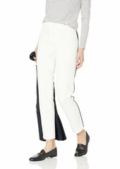 Calvin Klein Women's Solid Pant with Piping