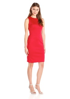 Calvin Klein Women's Solid Sheath Dress