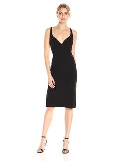 Calvin Klein Women's Solid Strappy Cocktail Dress