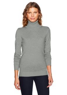 Calvin Klein Women's Solid Turtleneck  XL