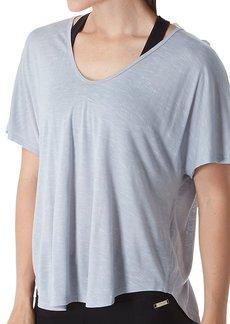 Calvin Klein Women's Spacedye Jersey Tee with Inner T-Back  M