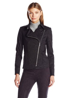 Calvin Klein Women's Spackled Compression Jacket