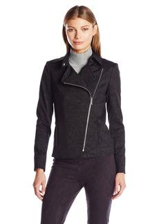 Calvin Klein Women's Spackled Compression Jacket