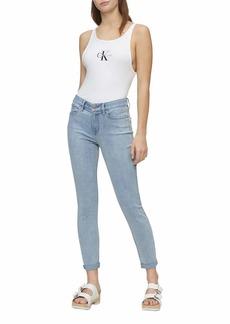 Calvin Klein Women's Spaghetti Strap Scoop Back Bodysuit