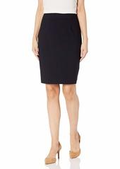 Calvin Klein Women's Straight Fit Suit Skirt