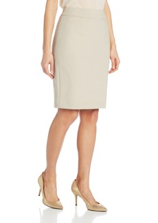 Calvin Klein Women's Straight Fit Suit Skirt