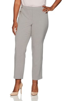Calvin Klein Women's Straight Pants (Regular Sizes) tin