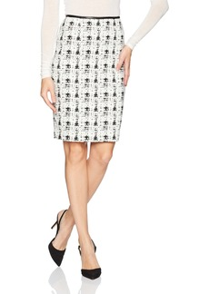 Calvin Klein Women's Straight Textured Skirt