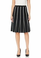 Calvin Klein Women's Stripe Sweater Skirt