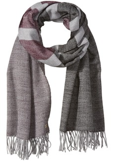 Calvin Klein Women's Striped Blanket Wrap