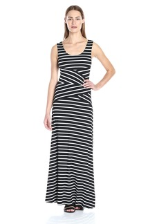 Calvin Klein Women's Striped Maxi Dress