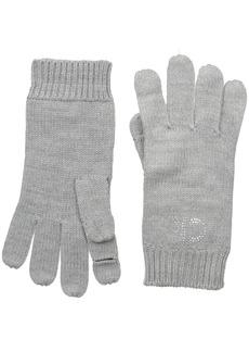 Calvin Klein Women's Stud Logo Glove