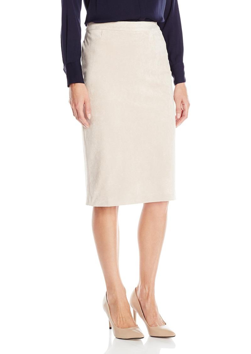2f7f837af4ac Calvin Klein Calvin Klein Women's Suede Pencil Skirt   Skirts