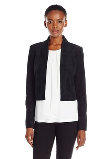 Calvin Klein Women's Denim Structured Shrug