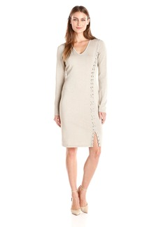 Calvin Klein Women's Sweater Dress with Side Lacing