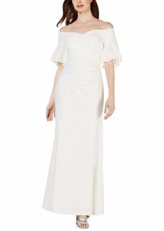 Calvin Klein Women's Sweetheart Off-The-Shoulder Gown