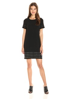 Calvin Klein Women's T-Shirt Dress W/ Grommets