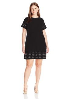 Calvin Klein Women's T-Shirt Dress W/ Grommets