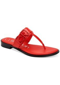 Calvin Klein Women's Tamura Flat Sandals Women's Shoes