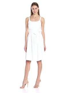 Calvin Klein Women's Tank Dress with Bow Belt