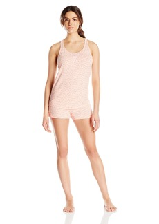 Calvin Klein Women's Tank Top and Boxer Short Pajama Set