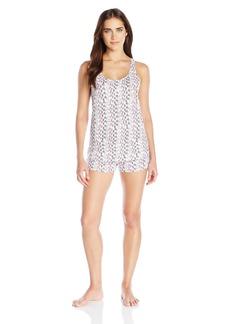 Calvin Klein Women's Tank Top and Boxer Short Pajama Set