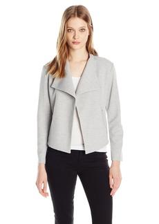 Calvin Klein Women's Textured Flyaway Jacket  L